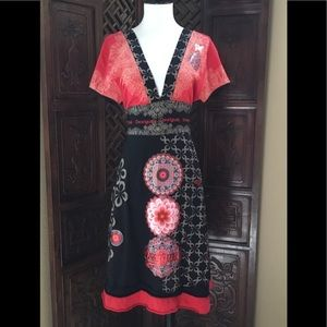❤️ DESIGUAL DRESS SIZE LARGE